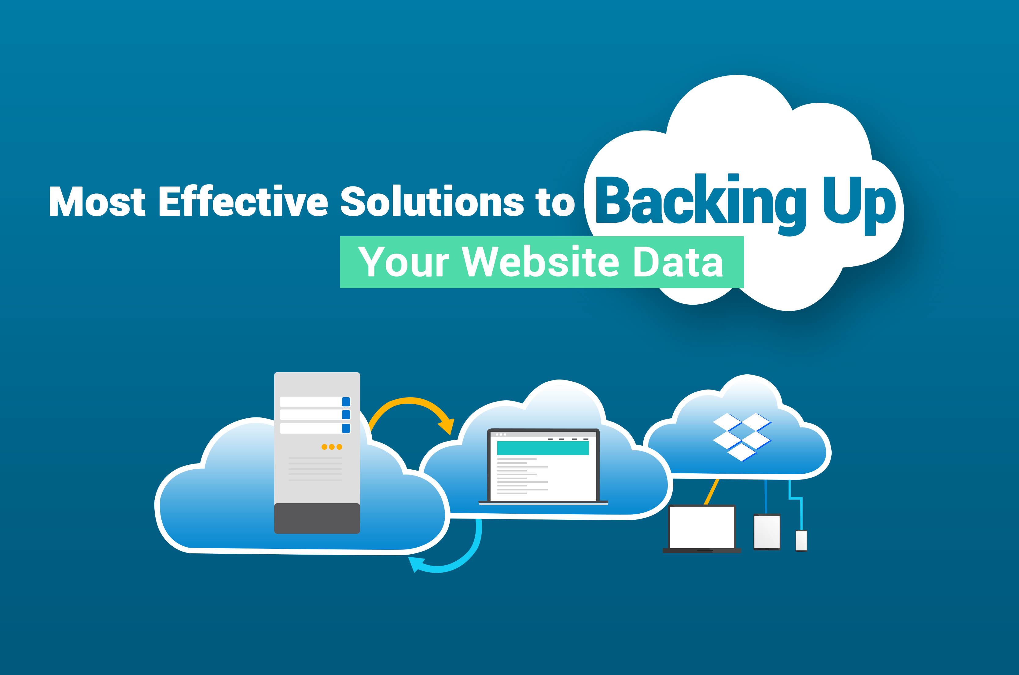Backing Up Your Website Data